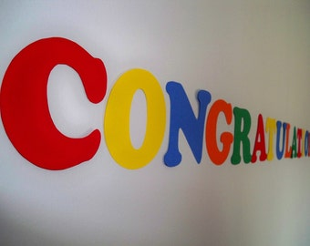 Congratulations Printable Banner