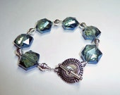 Blue Crystal Bracelet - B1288