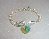 The Aqua Garden Bracelet - B1296