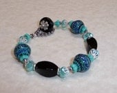 Blue Mystique Mood Bracelet - B1440