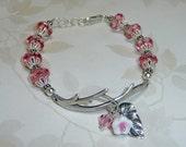 Pink Garden Branch Bracelet - B1564