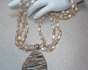 Sandy Beach Necklace     -     N1086