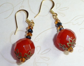 Carnelian Earrings - E1256