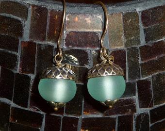 Sea Green Earrings - E1466