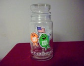 M and M Commemorative 1984 Olympic Jar