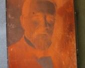 Victorian Gentleman Copper Printing Block