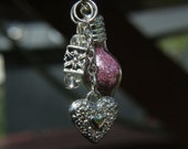 Love Potion Pendant - Victorian Love Potion Bottle Pendant or Charm