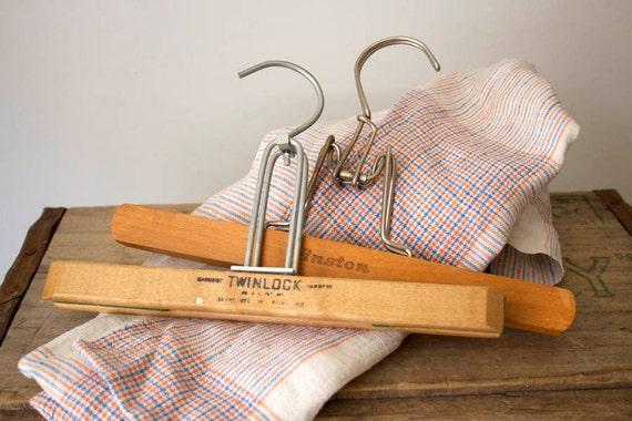 Two Wooden Hangers