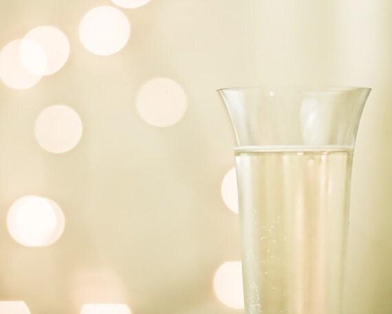 A Toast - Fine Art Photograph - wine champagne celebration wedding home decor print