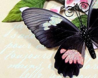 Butterfly Embellishments Breakfast At Tiffanys