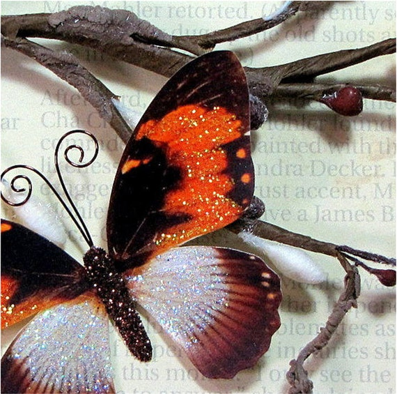 Butterfly Embellishments Fall Frenzy