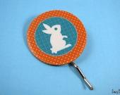 Sweet Summer Bunny Bobby Pin