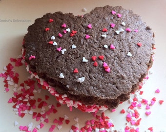 I Love You to Pieces Whoopie Pies