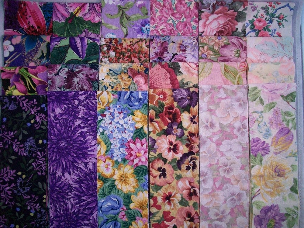 Floral Charm Fabric Jelly Roll Cut 2 1 2 Inch