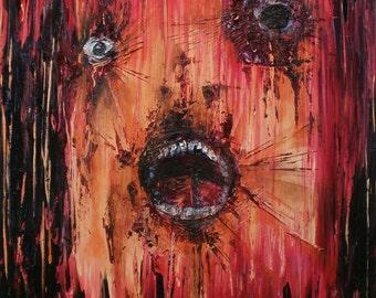 Mutilator - Original Oil Painting