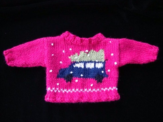 Christmas Time.  A Knitting Pattern That Fits 18-Inch, American girl, and Natterer Dolls.