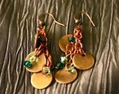 Copper Confetti Earrings