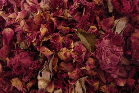 Roses, Petals and Buds, Dried Rosebuds - Potpourri and Sachets 8 oz (10cups)