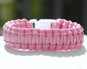 Paracord Bracelet Cobra Gutted - Pink