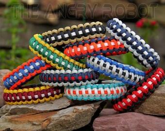550 Paracord Survival Bracelet - Sports Team Inspired Colors