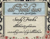 Business card for all-bout awe