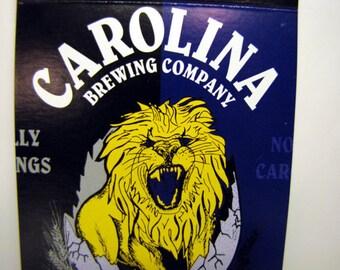 Animal Pack - Recycled Beer Package Memo Pad, Journal, Notebook, Carolina Brewing Pale Ale, Schmidt, Lion, Elk, Purple, Gold