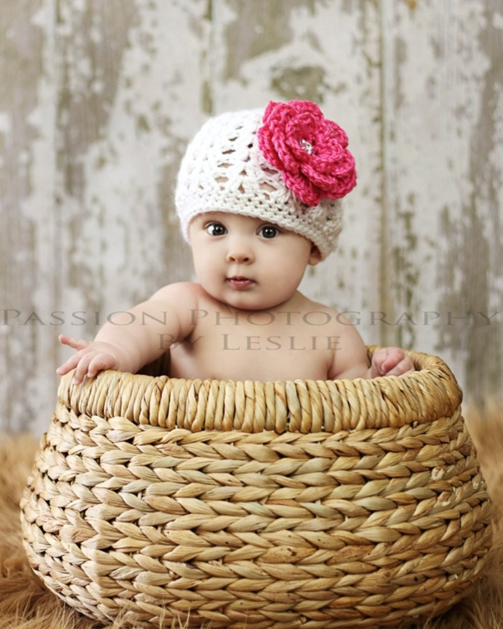 Crochet Newborn Hats : Baby Girl Hat Girl Hat Crochet Hat Knit Hat by bravoinbloom
