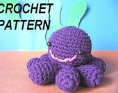 Crochet Pattern PDF-Inky Octopus-Easy with many photo illustrationsINSTANT DOWNLOAD