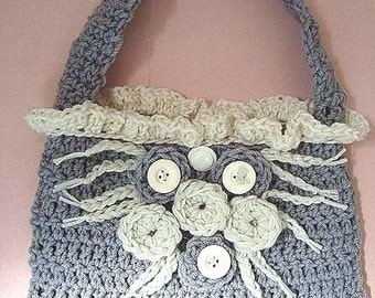 INSTANT DOWNLOAD Crochet Pattern PDF 36- Shoulder Bag Purse Handbag- make it any size, by Ashton11 on Etsy