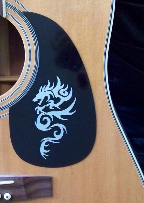 pick guard decal sticker fits acoustic and by ozarkvinylworks. Black Bedroom Furniture Sets. Home Design Ideas