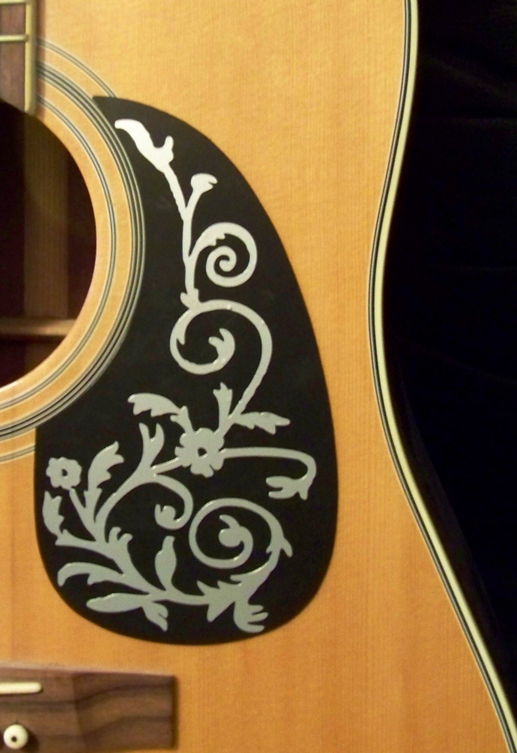Pick Guard Decal Sticker Fits Acoustic And By