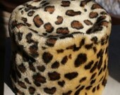 """The Reversible, 1960's Vintage """"But I know what he really loves you for, It's your brand new Leopard Skin Pillbox Hat"""""""