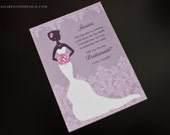 Custom Listing for Ashley - Lacy Bride - Will You Be My Bridesmaid Cards