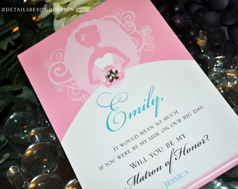 Will You Wear A Bridesmaid Dress Card - Large (5x7)