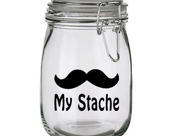 My Stache Vinyl Decal