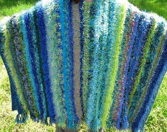 Promises of Spring Poncho