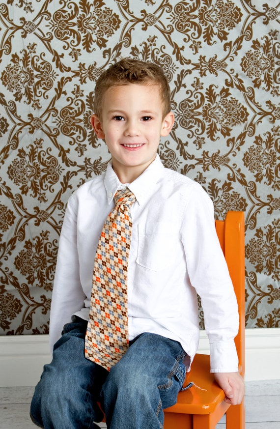 Boys Necktie - 3 ties for 36 - 25 designs to choose from - size 3 months to 12 years
