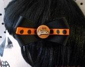 A Clockwork Orange Polka Dot Bow