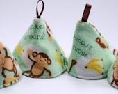 Pee Pee Cones for Baby Boys - Monkey Around - Set of 4
