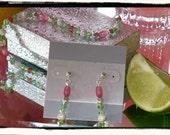 Cherry Limeade earrings