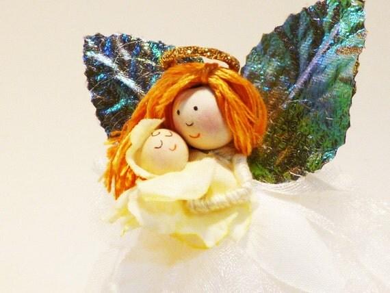 Guardian Angel Doll, Unisex Christening Gift, Catholic Baptism Present