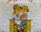 Happiness is 1986 Tea Towel Calendar