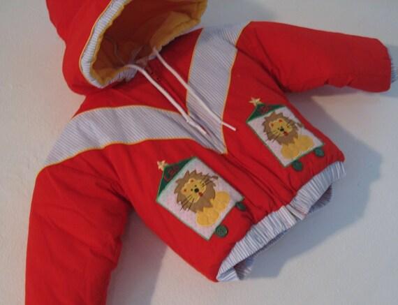 SALE Boys Vintage Winter Jacket 24 months.