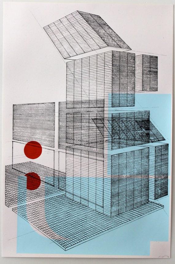 City center 4, architectural graphics