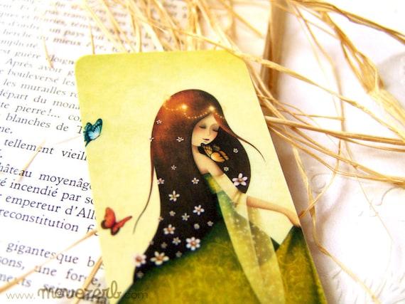 Ostara - Laminated bookmark