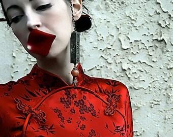 Art Photo Rose Petal Kiss