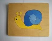 Small Blue Snail