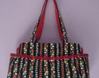 Twin Purse - Red-