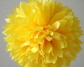 Buttercup .. Tissue paper pom party decoration
