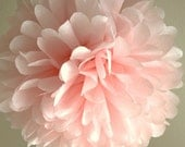 Leichte rosa Gewebe Pom Pom... Hochzeit / Braut Dusche